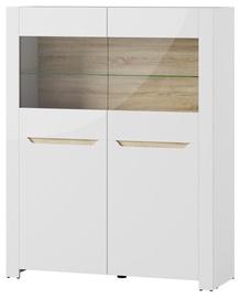 Szynaka Meble Glass Display Cabinets Ice 03 White