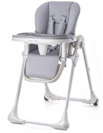 Maitinimo kėdutė Baby Tiger Kiki Grey