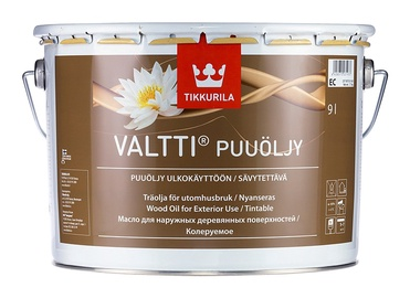 Medienos aliejus Tikkurila Valtti Puuoljy, bespalvis, 9 l