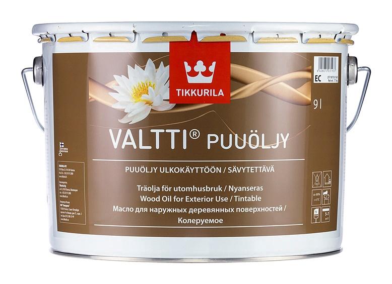 Eļļa kokam Tikkurila Valtti Puuoljy EC, 9l