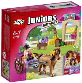 Konstruktors LEGO Juniors Stephanie's Horse Carriage 10726
