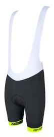 Force B38 Bib Shorts Black/White/Yellow M