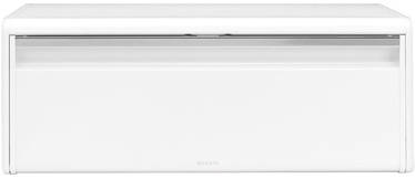Brabantia Fall Front Bread Bin White