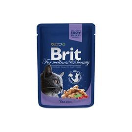 Konservuotas ėdalas katėms Brit Premium Cod Fish, 100 g