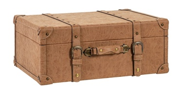 Home4you Oswald Trunk M 58x37x22cm Brown