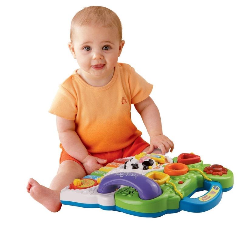 VTech First Steps Baby Walker Orange LV