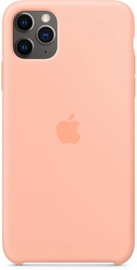 Apple Silicone Back Case For Apple iPhone 11 Pro Max Grapefruit