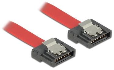 Delock Cable SATA to SATA Red 0.3m