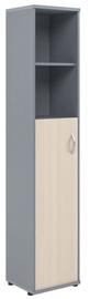 Skyland Imago Office Cabinet SU-1.6 Left Maple/Metallic