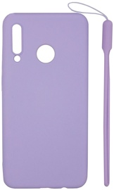 Evelatus Soft Touch Back Case With Strap For Huawei P30 Lite Purple
