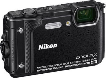 Nikon Coolpix W300 Holiday Kit Black
