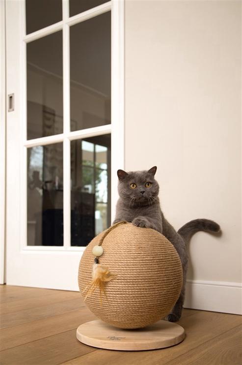 Kačių draskyklė Beeztees Globe, 30x30x27 cm