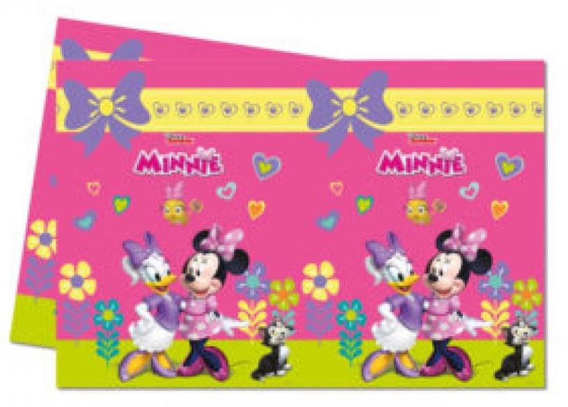 Procos Minnie Happy Helpers Plastic Tablecover 12 pcs 120x180cm