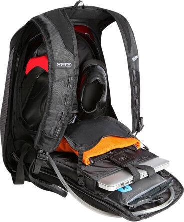 Ogio Mach S No Drag Motorcycle Backpack Black