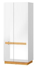 Szynaka Meble Visio 70 Wardrobe Camargue Oak/White