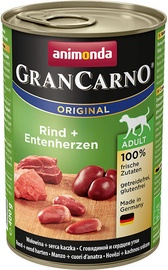 Animonda GranCarno Beef/Duck Hearts 400g
