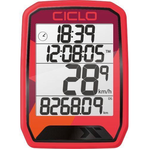 CicloSport Protos 213 Wireless Bike Computer Red
