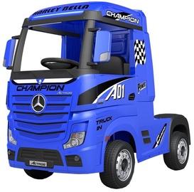 Bezvadu automašīna Azeno Mercedes Actros Truck, zila/melna