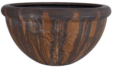 Home4you Lava Flower Pot Dark Brown 60cm