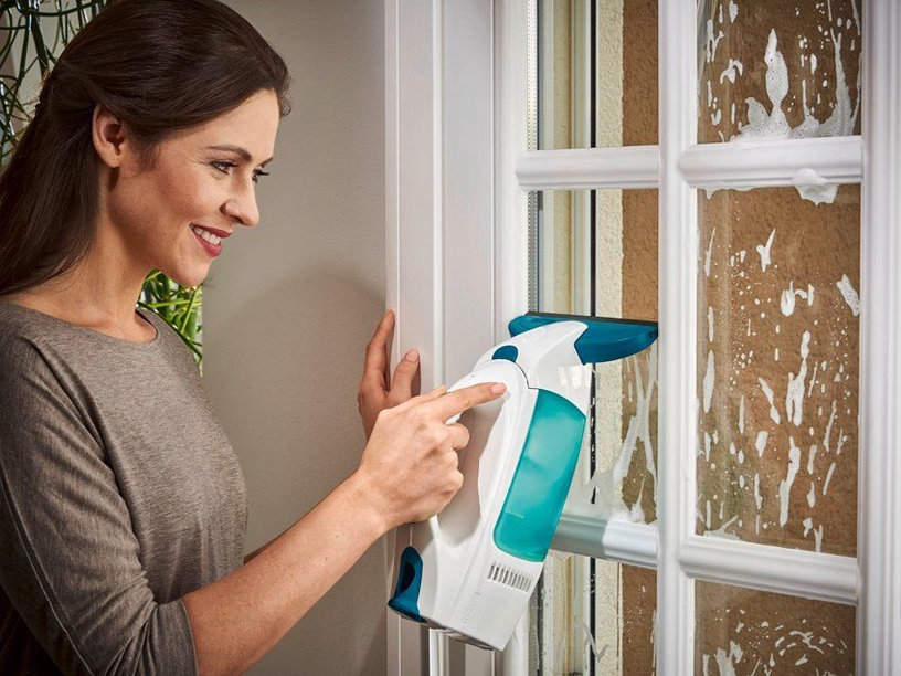 Leifheit Vacuum Window Cleaner Dry&Clean With Accessory