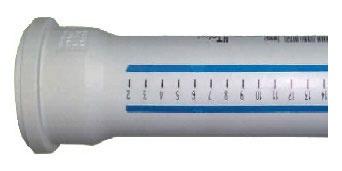 Vidaus kanalizacijos vamzdis HTplus, Ø 32 mm, 0,5 m, baltas