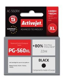 Кассета для принтера ActiveJet AC-560RX, черный, 22 мл