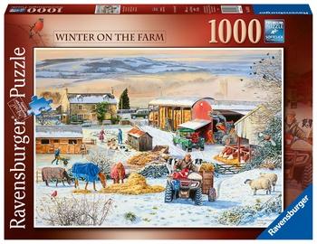 Ravensburger Puzzle Winter On The Farm 1000pcs 164783