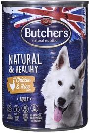 Влажный корм для собак Butchers Natural & Healthy, 0.39 кг