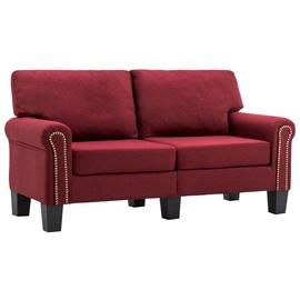 Диван VLX 2-Seated 287158, бордо, 145 x 70 x 75 см
