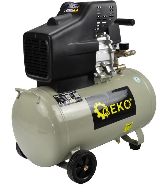 Geko G80301 Oil Compressor 50l 8bar 210l/min