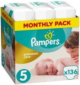 Pampers Premium Care S5 136