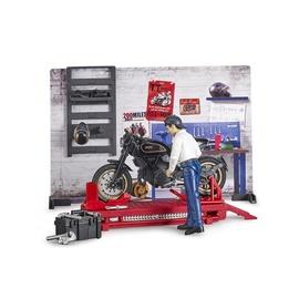 Bruder Motorcycle Service Set 62101
