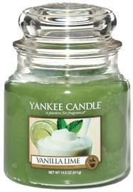Ароматическая свеча Yankee Candle Classic Medium Jar Vanilla Lime, 411 г
