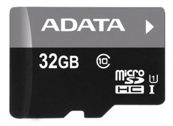 A-Data 32GB Premier Micro SDHC Class 10 + Micro reader