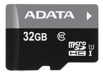 Adata 32GB Premier Micro SDHC Class 10 + Micro reader
