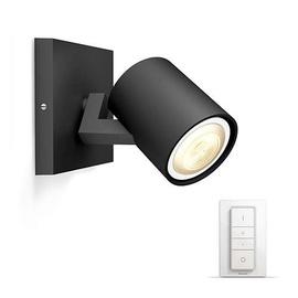 Išmanusis šviestuvas Philips Runner Hue, juodas, 1x5.5W 230V