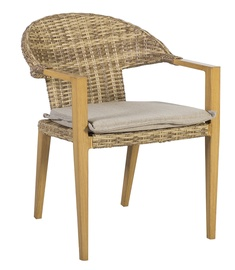 Home4you Greenwood Padded Garden Chair Caramel