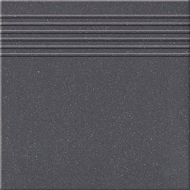 Paradyz Ceramika Stone Тiles Montana 30x30x0.8cm Black