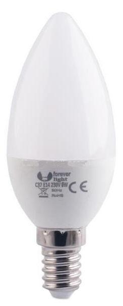 Forever E14 LED Bulb C37 6W Warm White