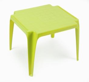 Galda bērnu plastmasa zaļa 55x50x44