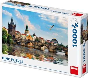 Dėlionė Dino Charles Bridge Prague, 1000 dalių