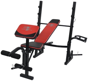Christopeit Weight Bench Power Black/Red