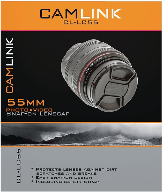 CamLink Snap-On Lens Cap 55mm