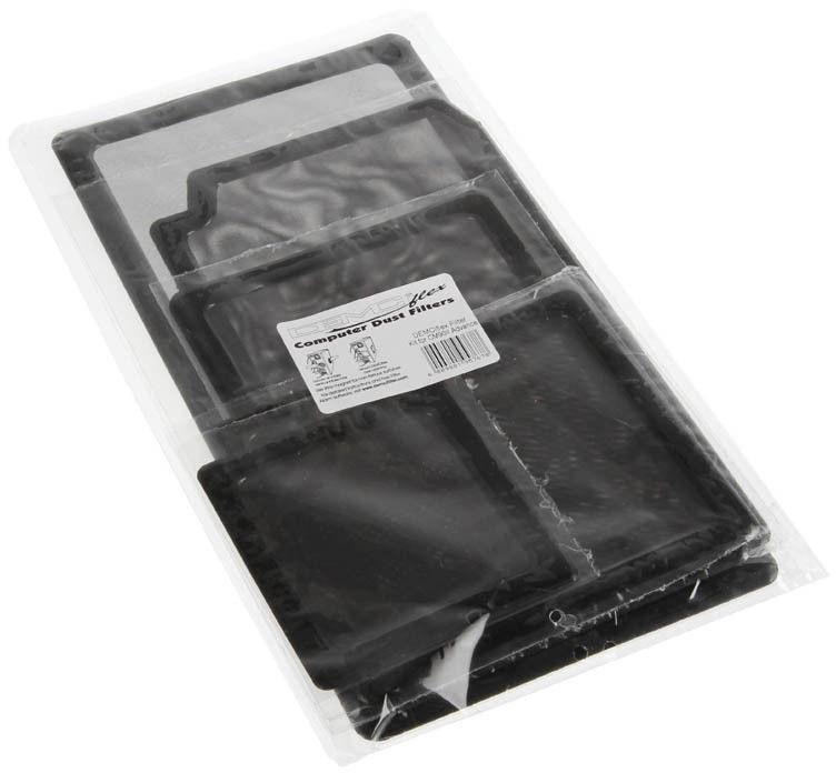 DEMCiflex Dust Filter Black Set For Cooler Master CM690II