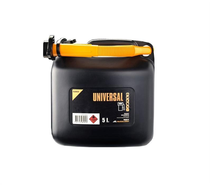 McCulloch Universal Fuel Can OLO020 5l