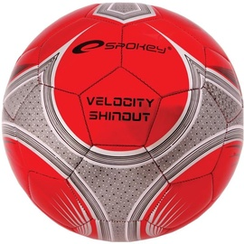 Spokey Football Velocity Shinout Red