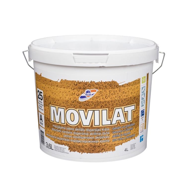Krāsa RILAK Movilat 25A, 3.6L