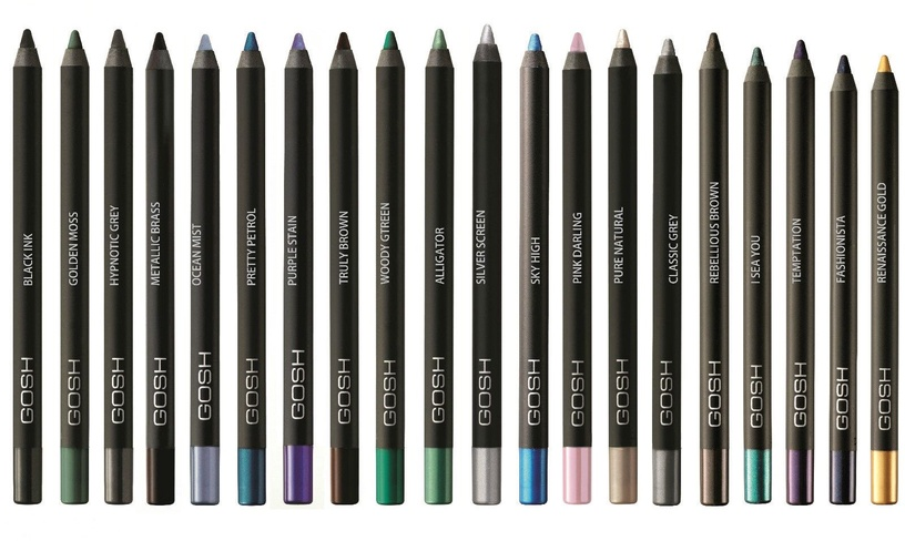 Gosh Velvet Touch Waterproof Eye Pencil 1.2g Carbon Black