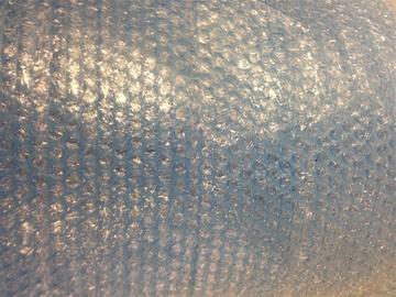 Burbulinė pakavimo plėvelė PE, 1.2 x 100 m, 4 mm, mėlyna