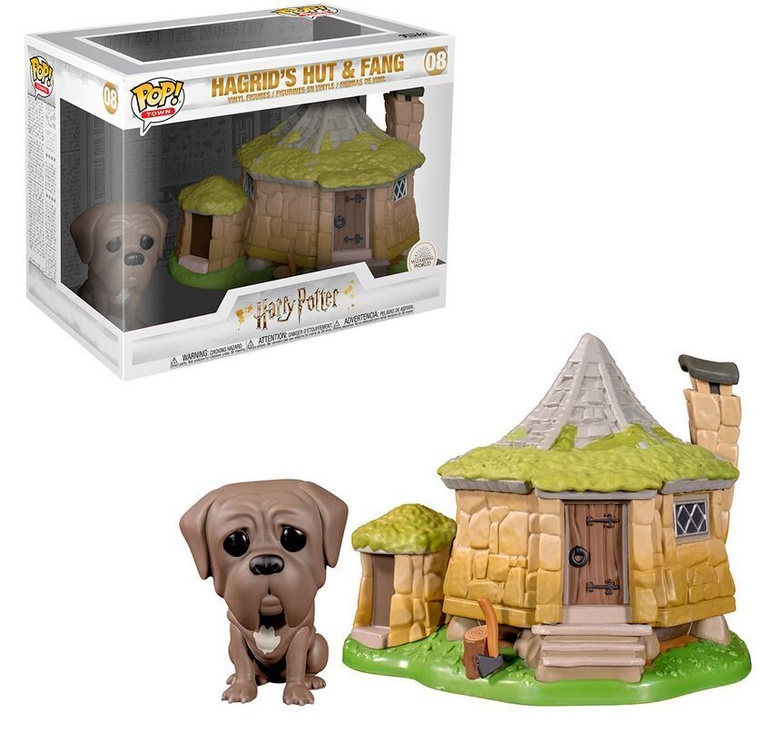 Funko Pop! Town Harry Potter Hagrid's Hut With Fang 08